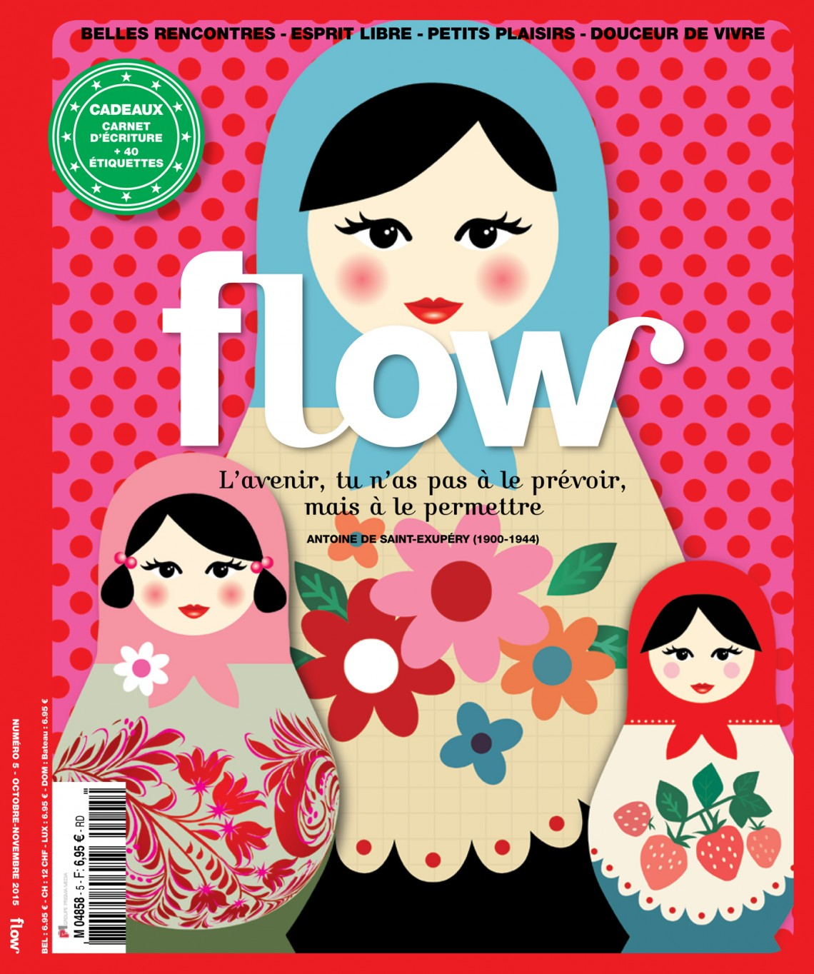Flow magazine France cover