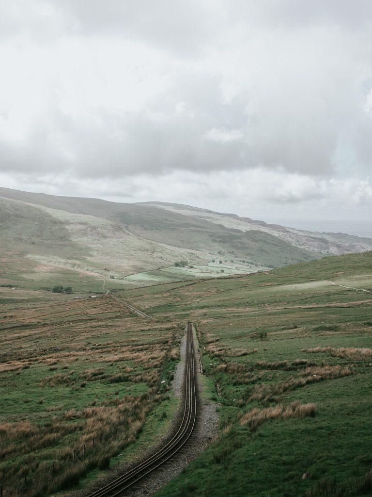 train tracks nature